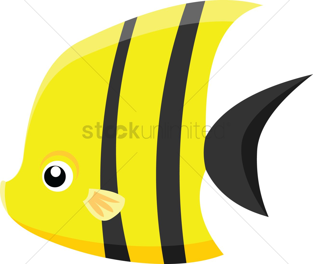 angel fish on white background vector image 1265729 stockunlimited rh stockunlimited com blue angelfish clipart