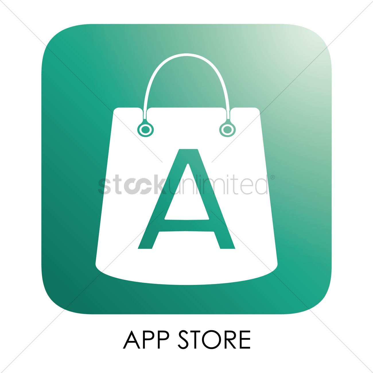 App store icon vector image 1796433 stockunlimited app store icon vector graphic buycottarizona Images