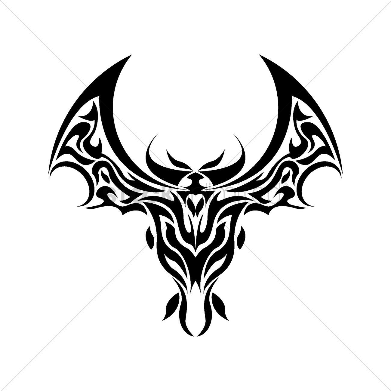 bat tattoo design vector image 1435573 stockunlimited rh stockunlimited com vampire bat tattoo designs cute bat tattoo designs