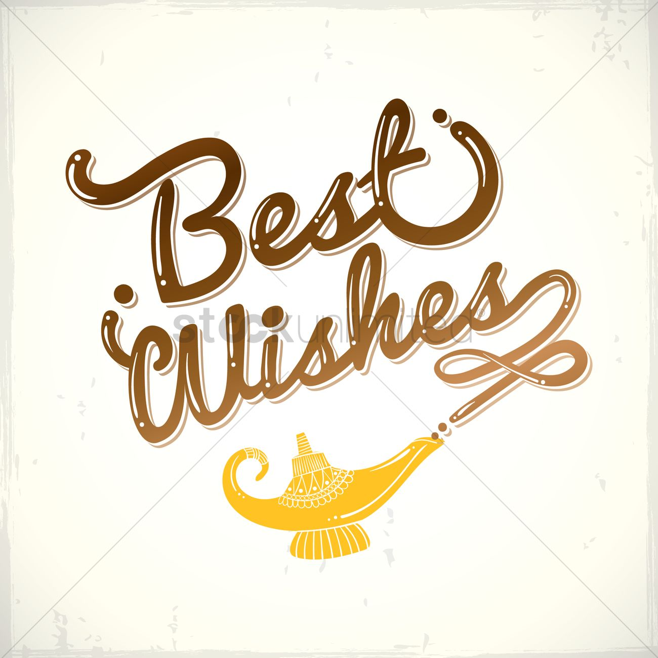 Best Wishes Greetings Vector Image 1811337 Stockunlimited