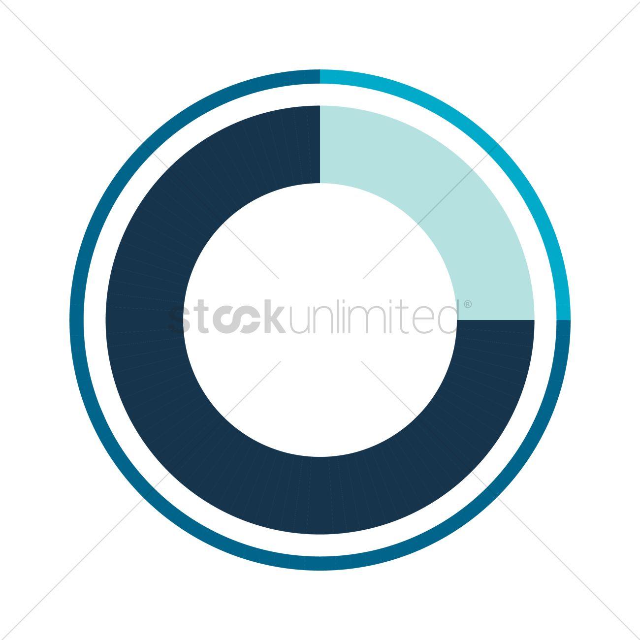 Blue progress circle diagram vector image 1955253 stockunlimited blue progress circle diagram vector graphic ccuart Choice Image