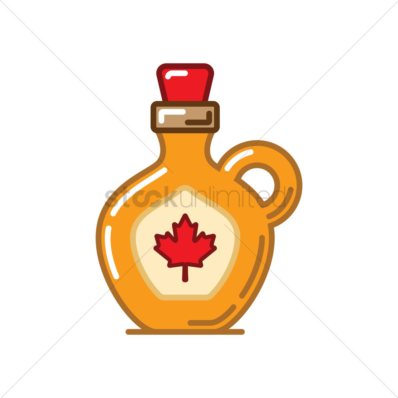 bottle of maple syrup vector image 1962969 stockunlimited rh stockunlimited com Maple Syrup Bottle Maple Syrup Trees