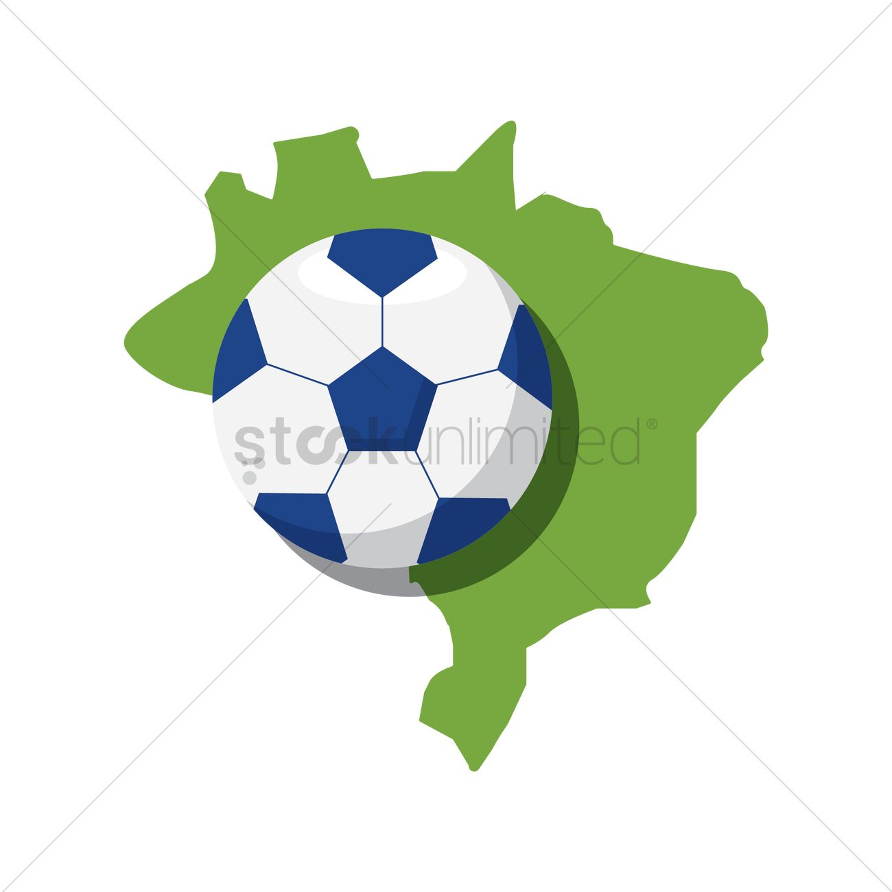 Brazil map with soccer ball vector image 1571993 stockunlimited brazil map with soccer ball vector graphic gumiabroncs Gallery