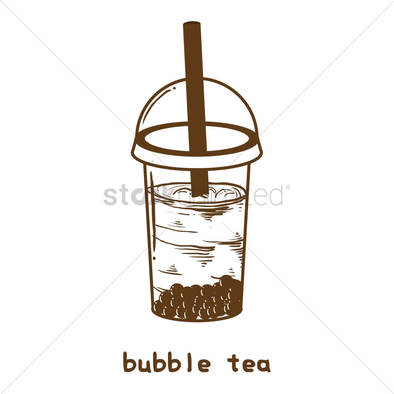 bubble tea vector image 2036037 stockunlimited bubble tea vector image 2036037