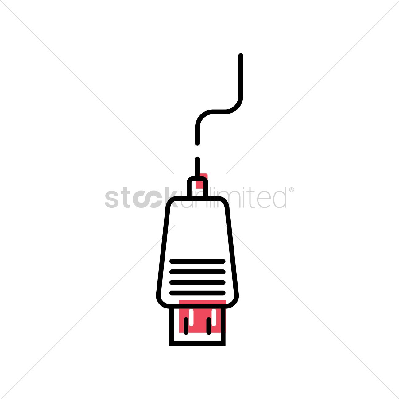 Cable wire Vector Image - 1490753 | StockUnlimited