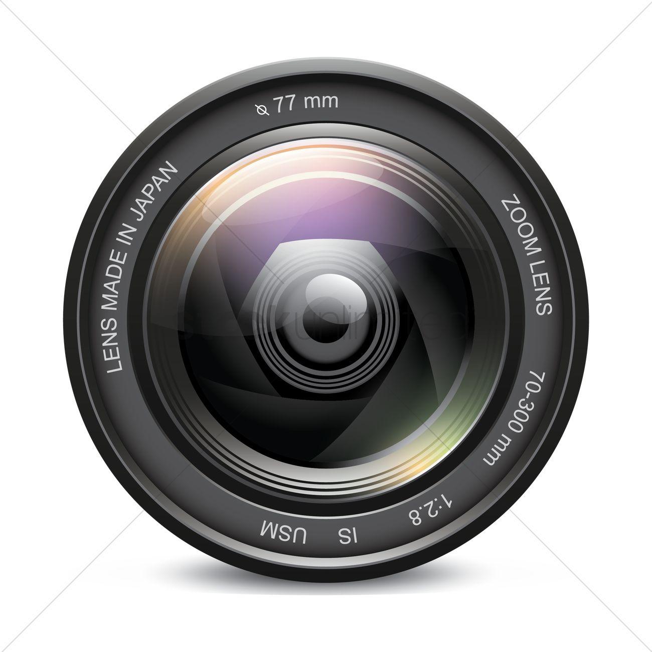 Camera Photo Lens Vector Image 1515489 Stockunlimited