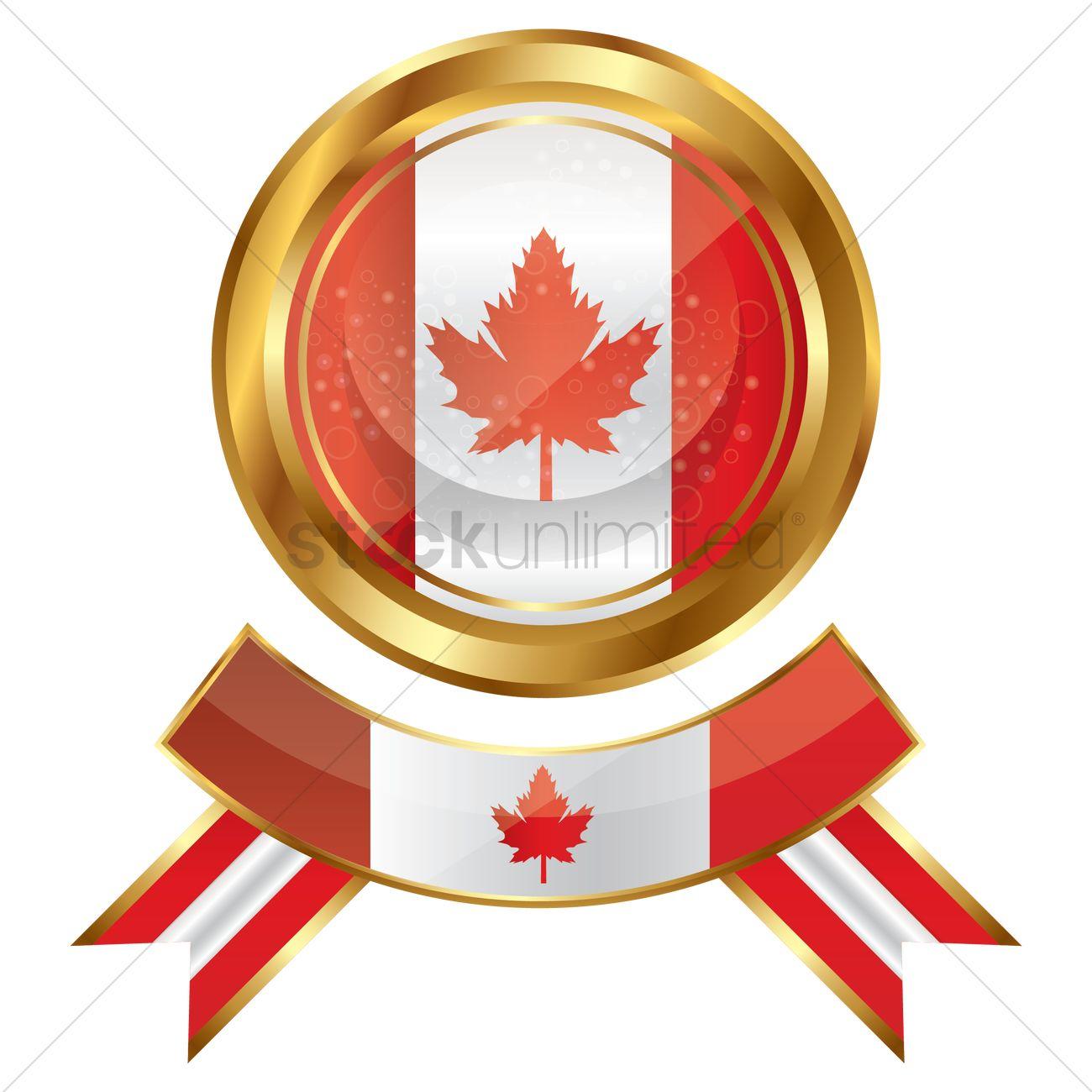 canada flag icon vector image 1951057 stockunlimited
