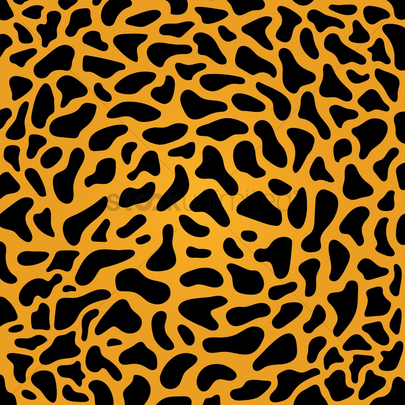 Cheetah texture background Vector Image - 1429941