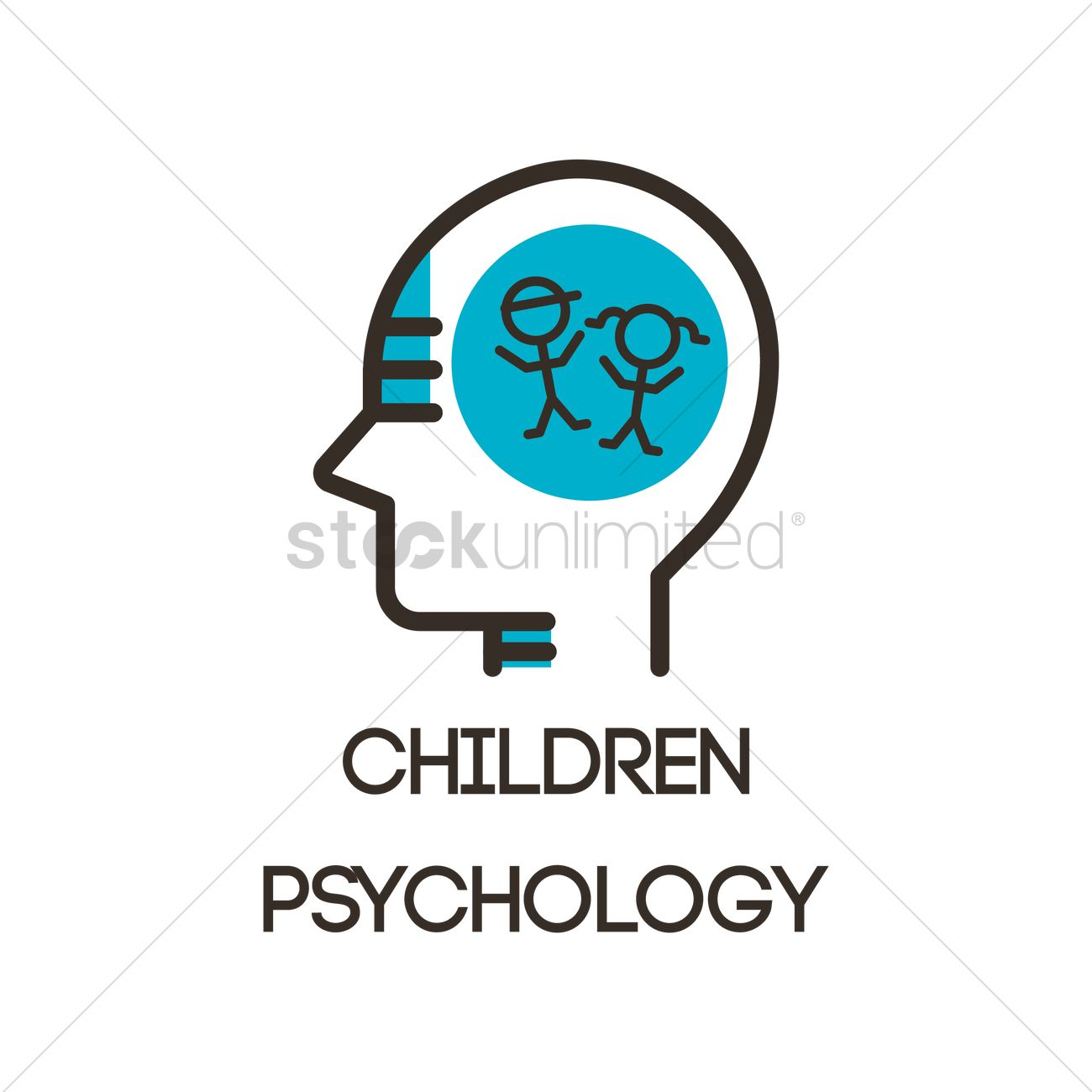 Children Psychology Icon Vector Image 2023225 Stockunlimited
