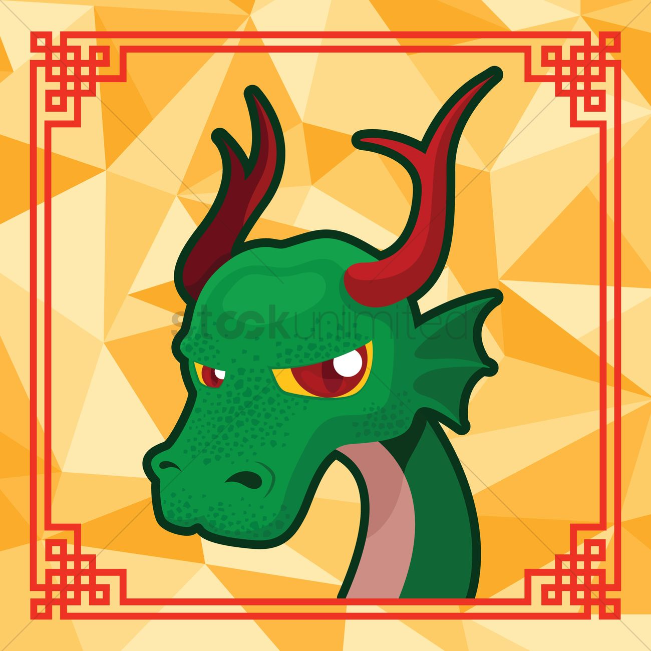 Free Chinese zodiac - dragon Vector Image - 1257081