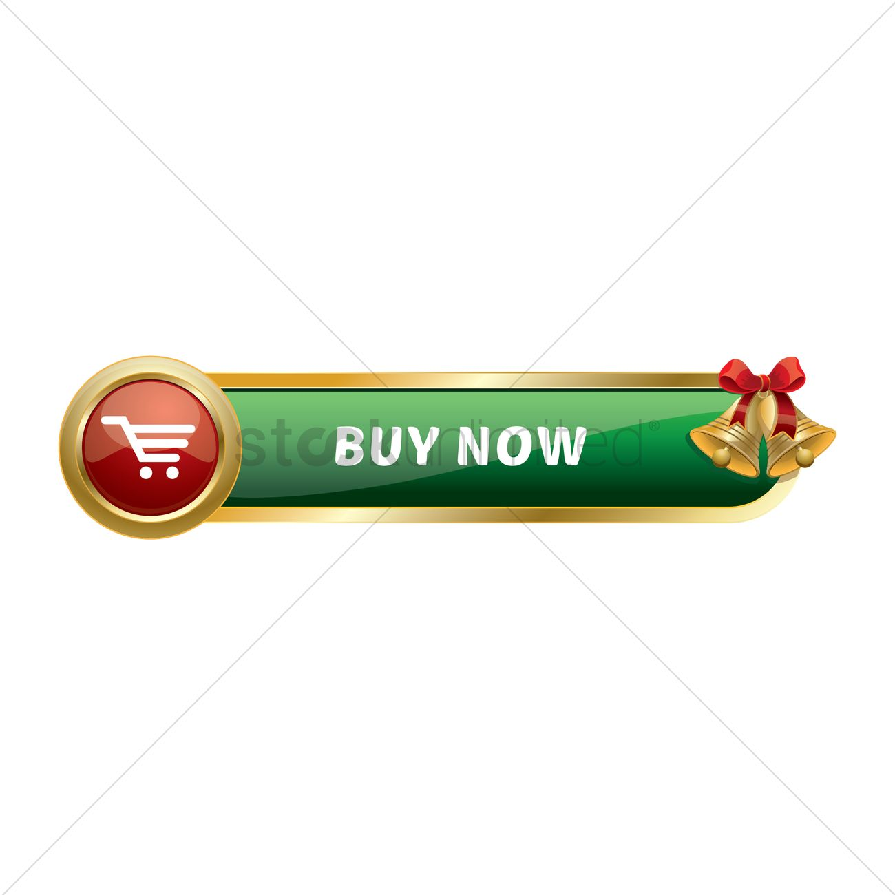 Christmas themed buy now button Vector Image - 1320493 | StockUnlimited