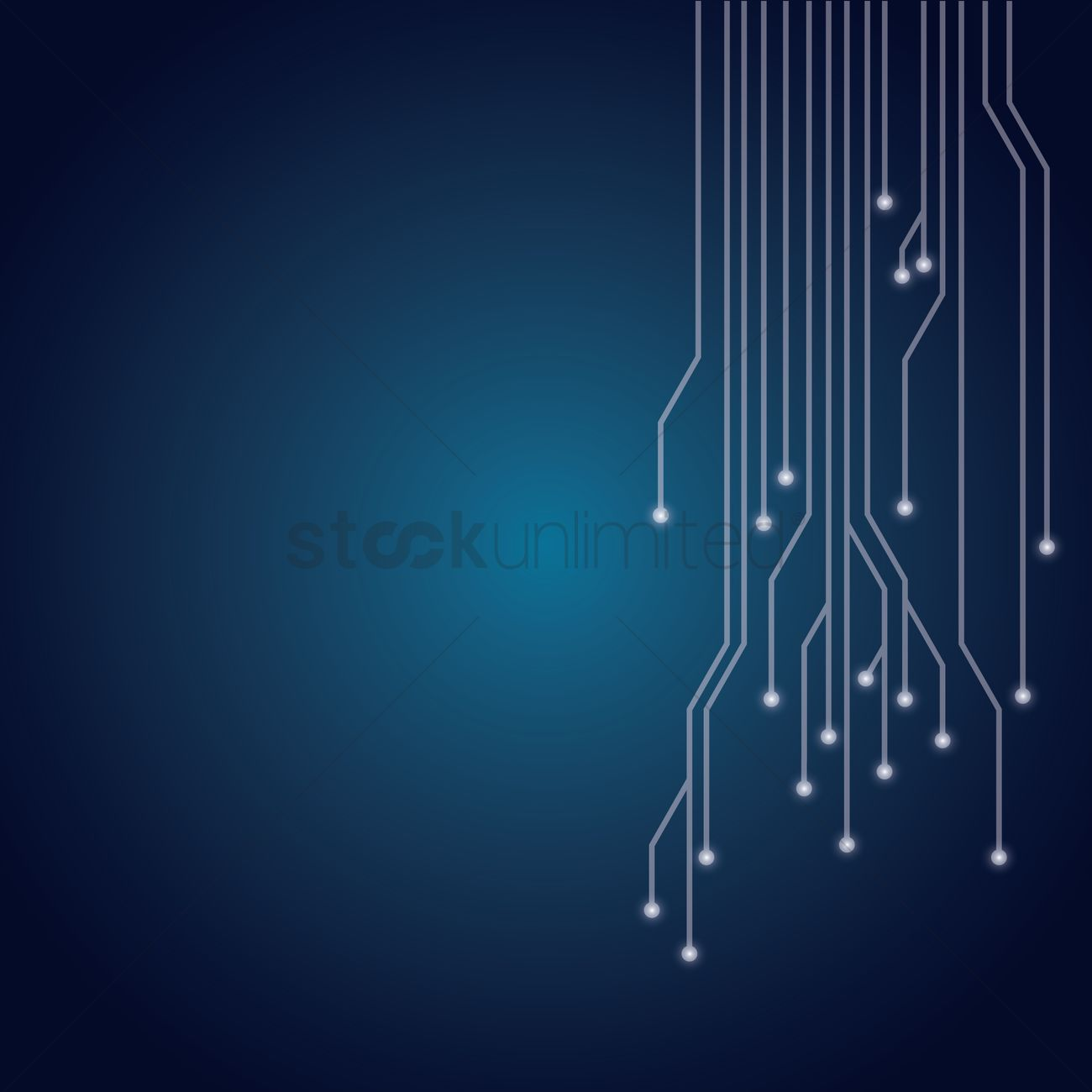 Circuit board design Vector Image - 1647153 | StockUnlimited