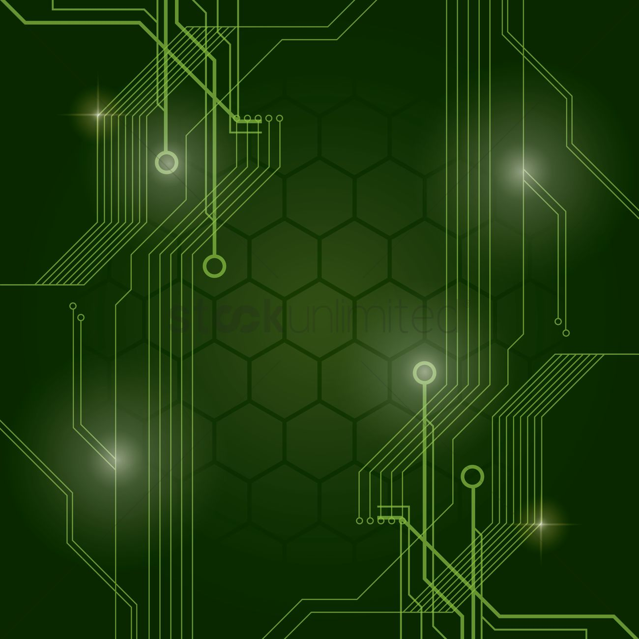 Circuit board design Vector Image - 1647413 | StockUnlimited