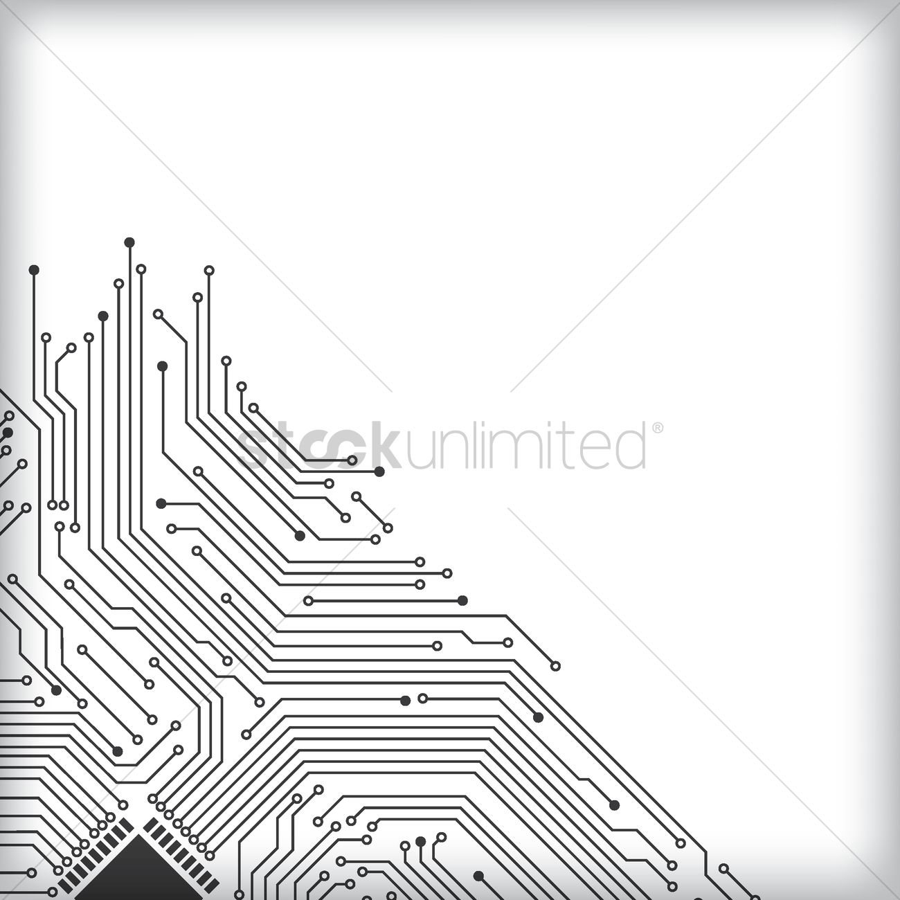Circuit board design Vector Image - 1948325 | StockUnlimited