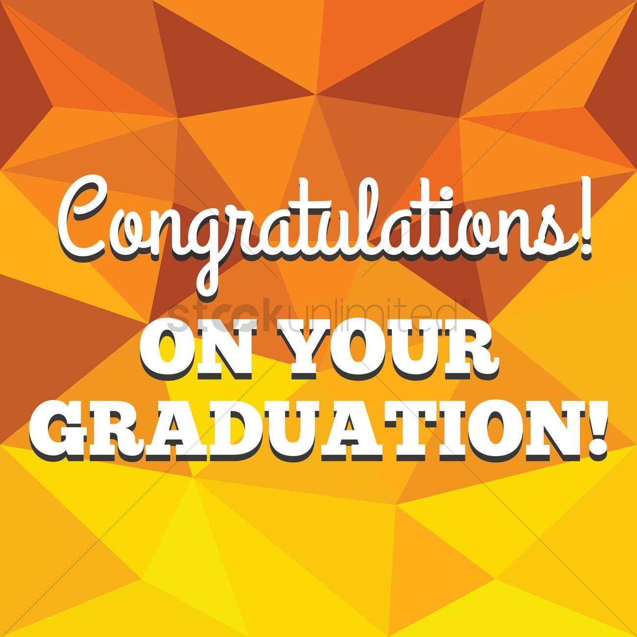 congratulations on your graduation card ベクタークリップアート