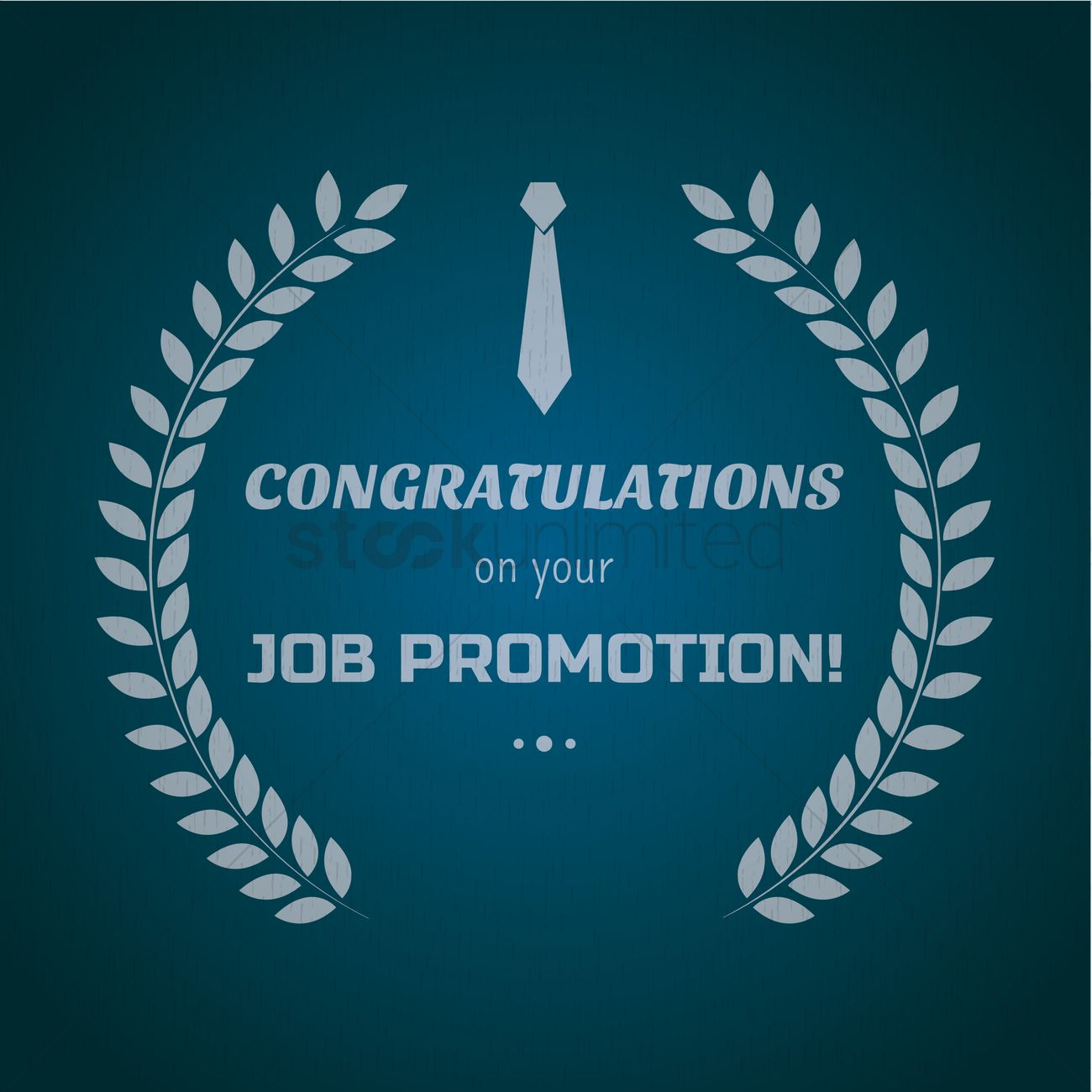 Congratulations on your job promotion vector image 1615709 congratulations on your job promotion vector graphic m4hsunfo