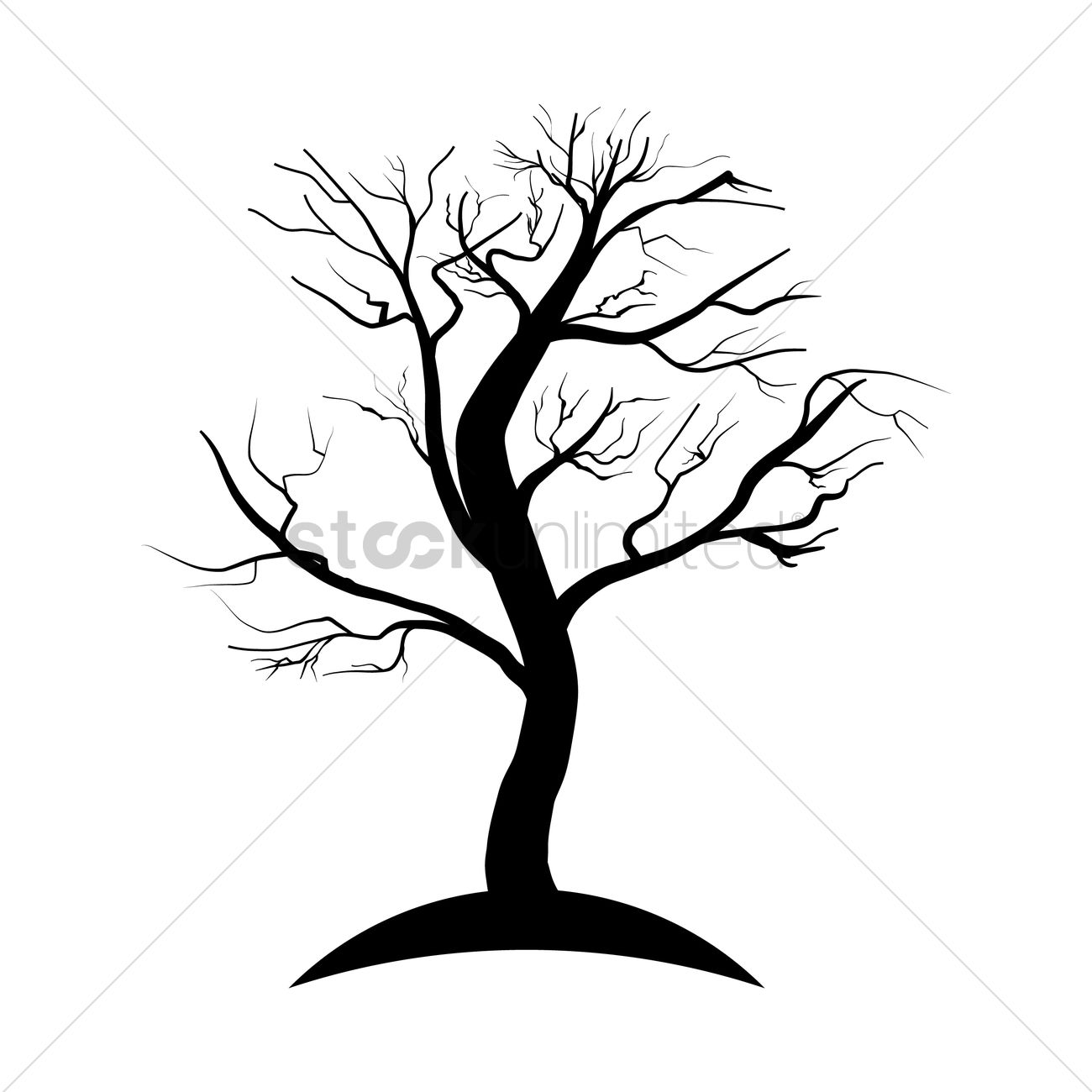 dead tree silhouette vector image 1903005 stockunlimited rh stockunlimited com dead tree vector image dead tree vector png