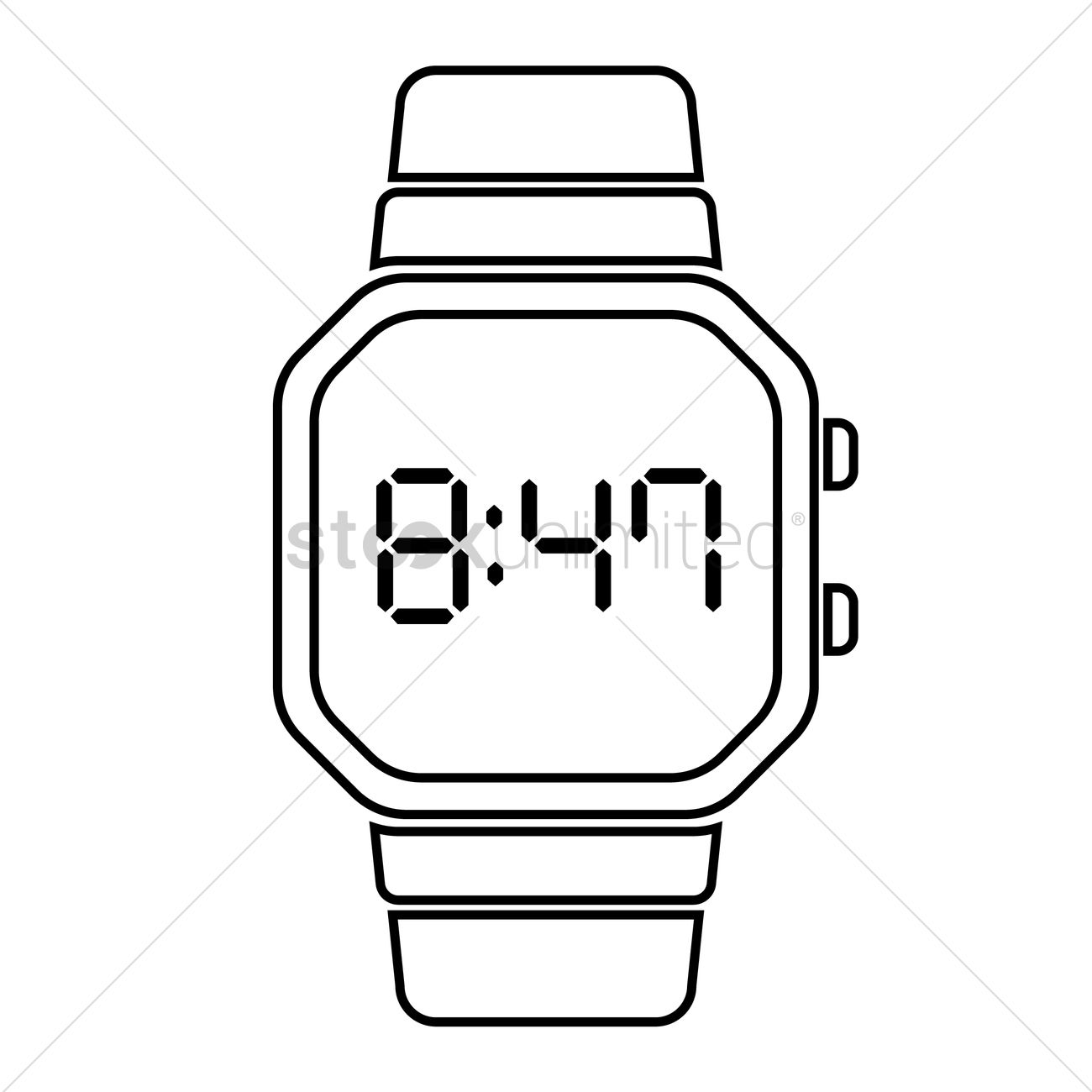 time digital watch watches wrist watch technology technologies smart rh stockunlimited com Time Clip Art Wearable Technology Clip Art