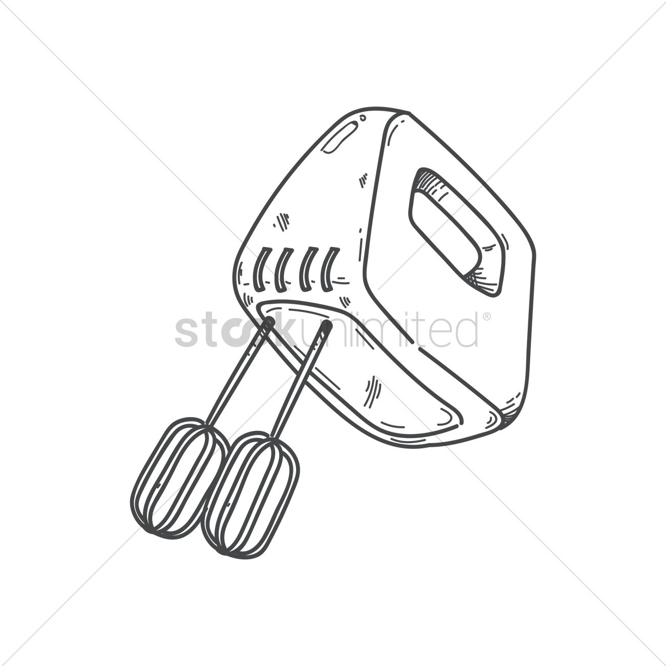 Electric whisk Vector Image - 1819337 | StockUnlimited
