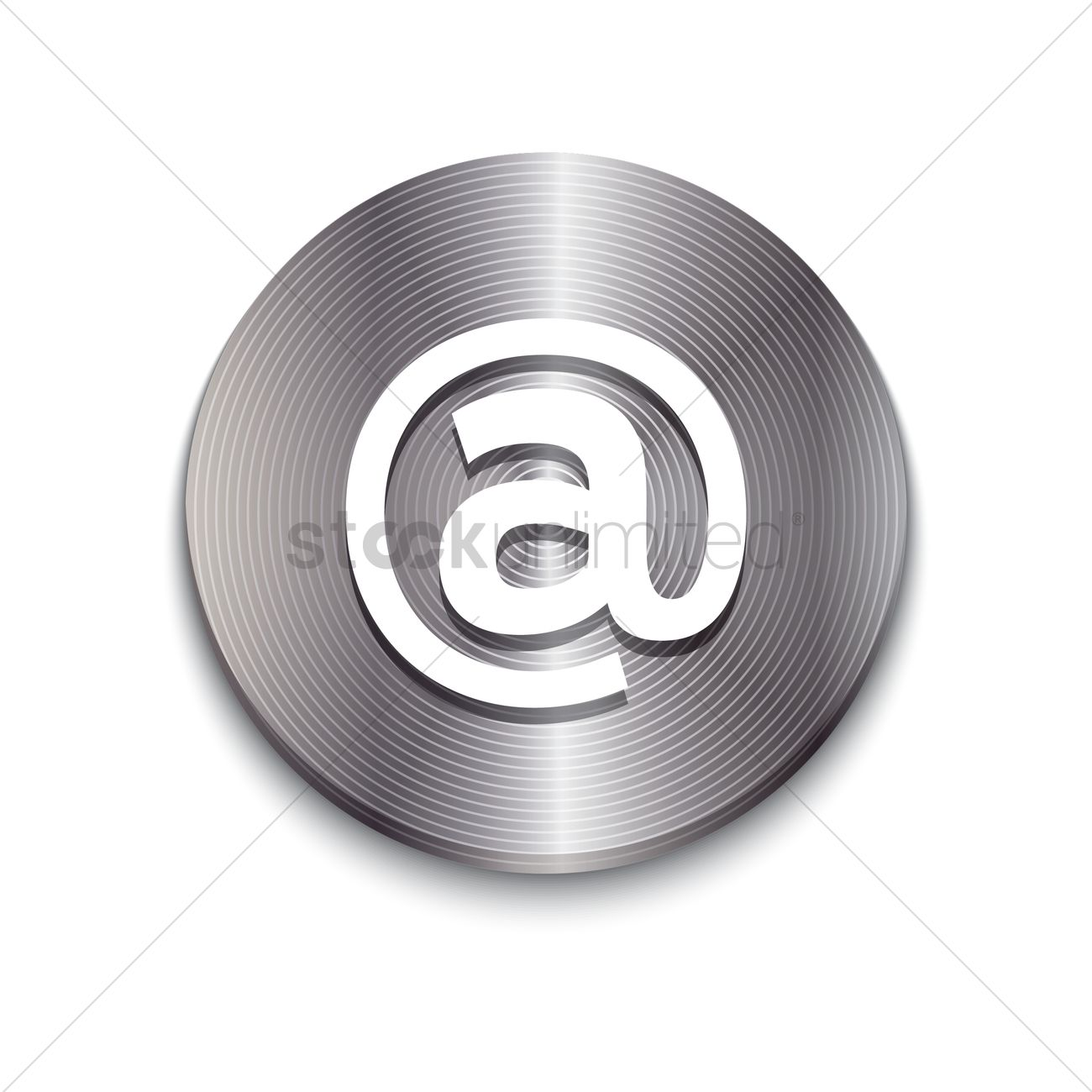 Email Icon Vector Image 1610081 Stockunlimited