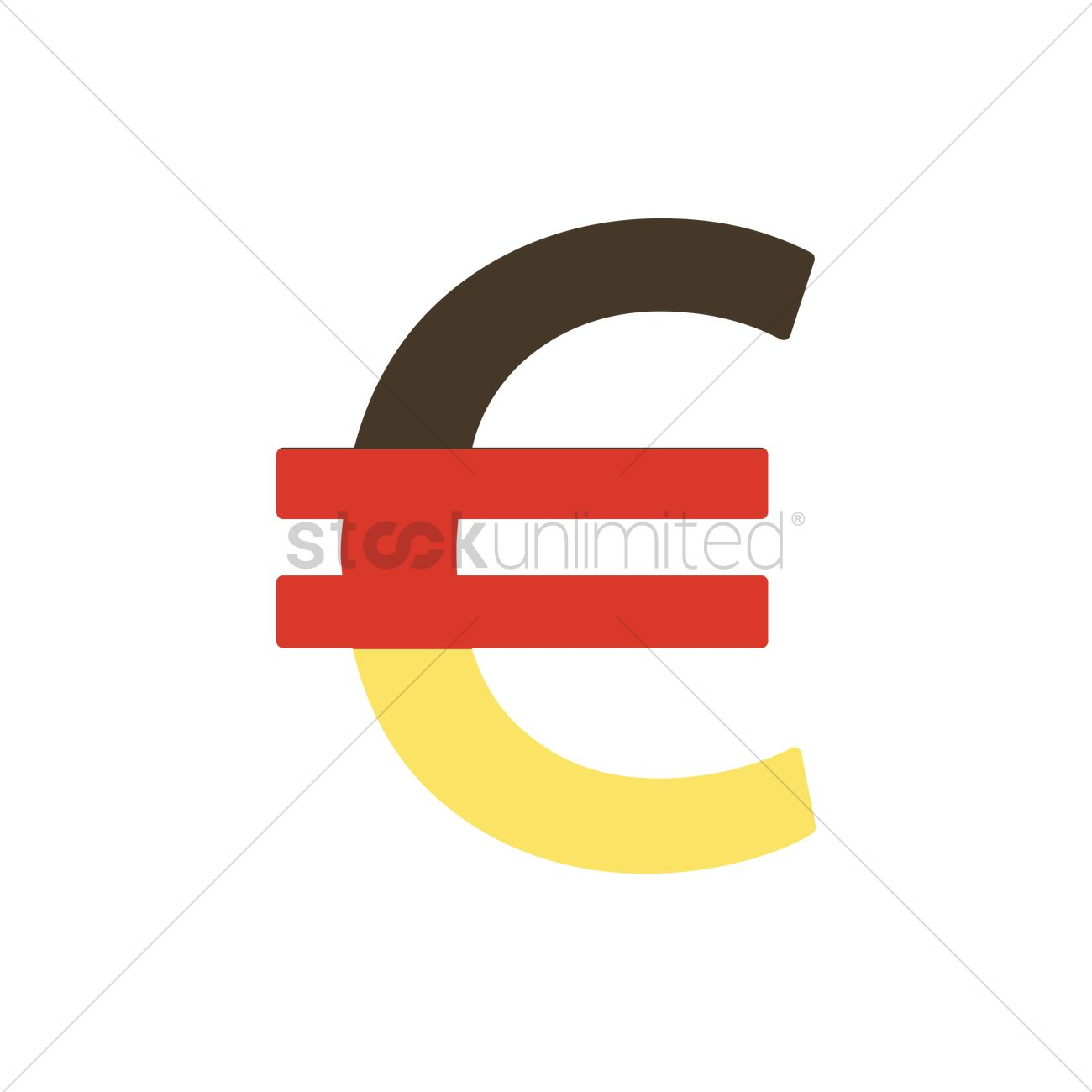 Euro Currency Symbol Vector Image 1953141 Stockunlimited