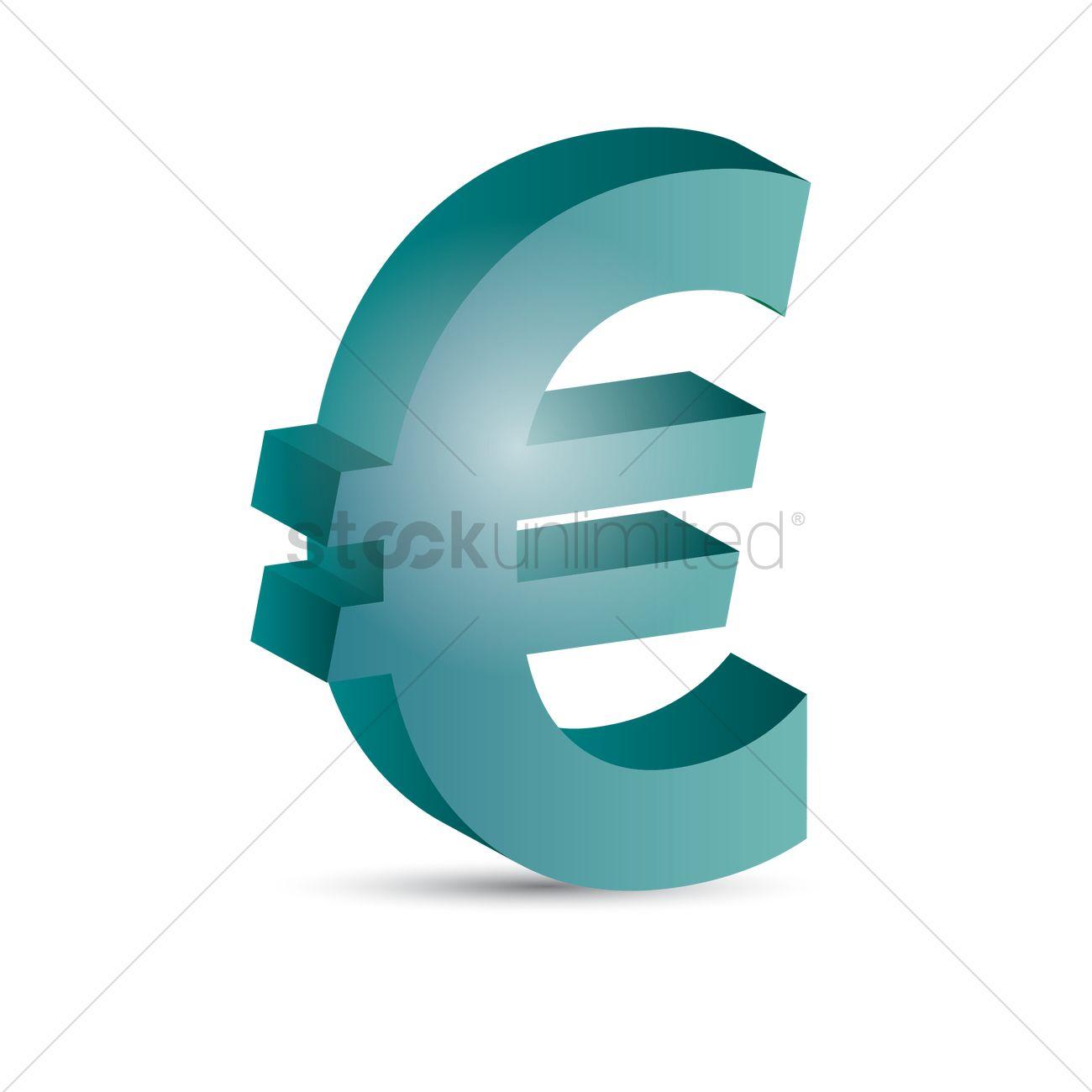 Europe Euro Symbol Vector Image 1866881 Stockunlimited