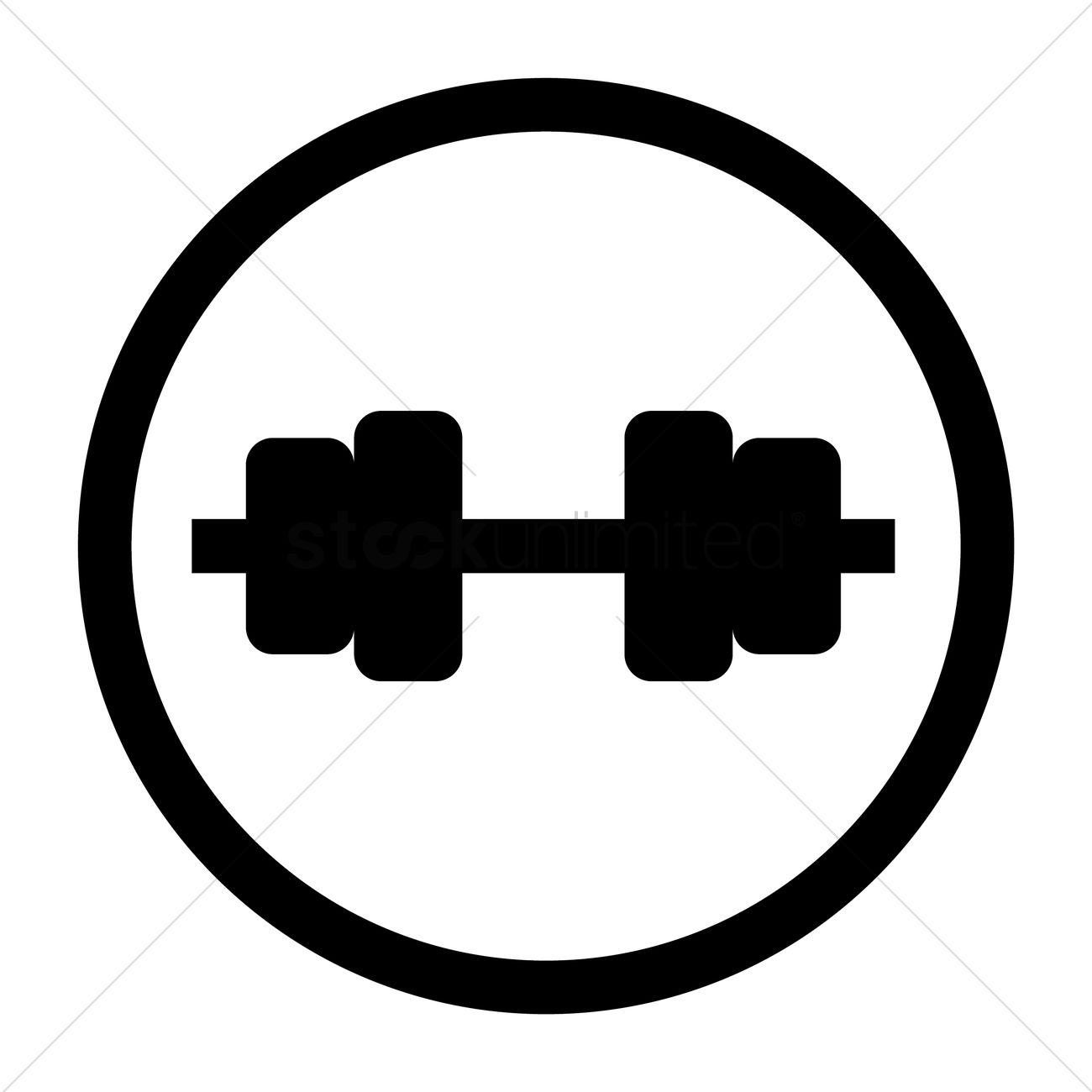 Fitness Icon Vector Image 1648801 Stockunlimited