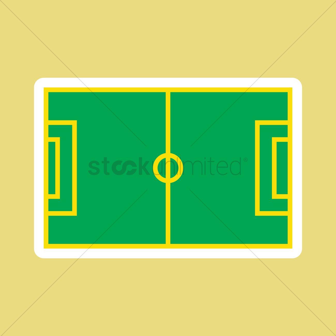 football field vector image 1571633 stockunlimited rh stockunlimited com football field vector free download football field clipart vector
