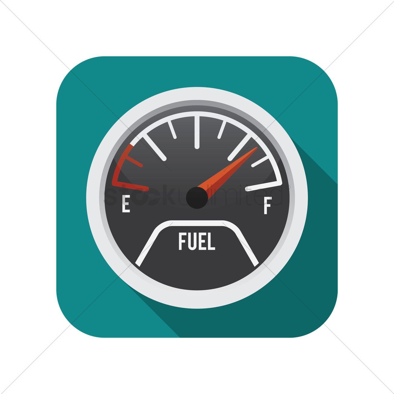 Fuel gauge Vector Image - 1390245 | StockUnlimited