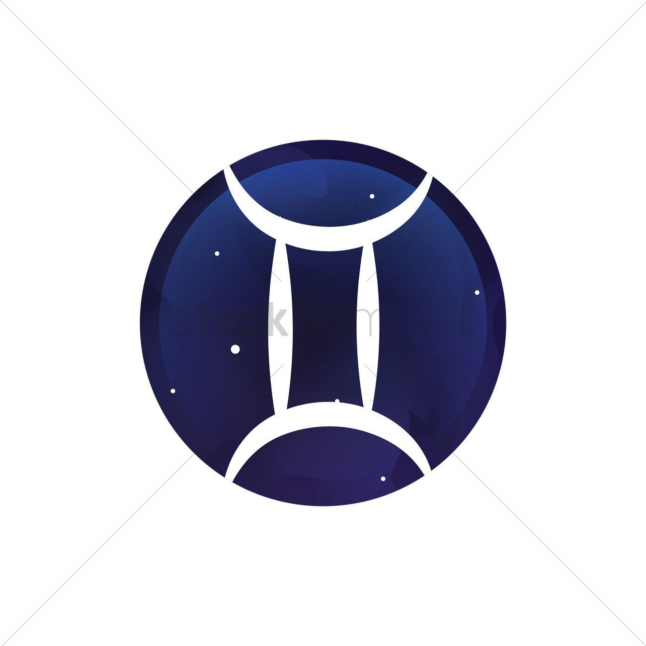Gemini symbol vector image 1988553 stockunlimited gemini symbol vector graphic buycottarizona