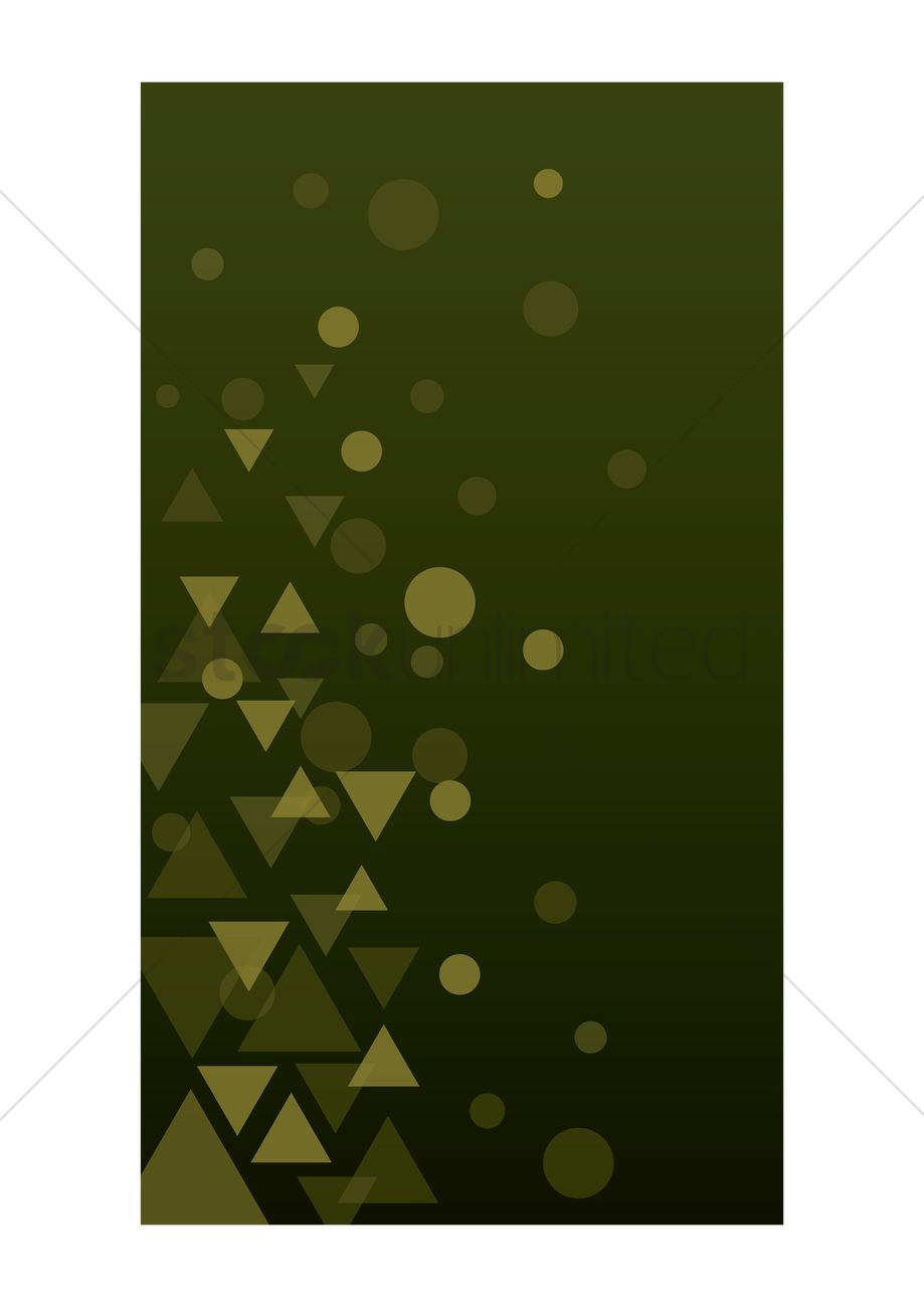 Geometric Wallpaper For Mobile Phone Vector Image 1635785