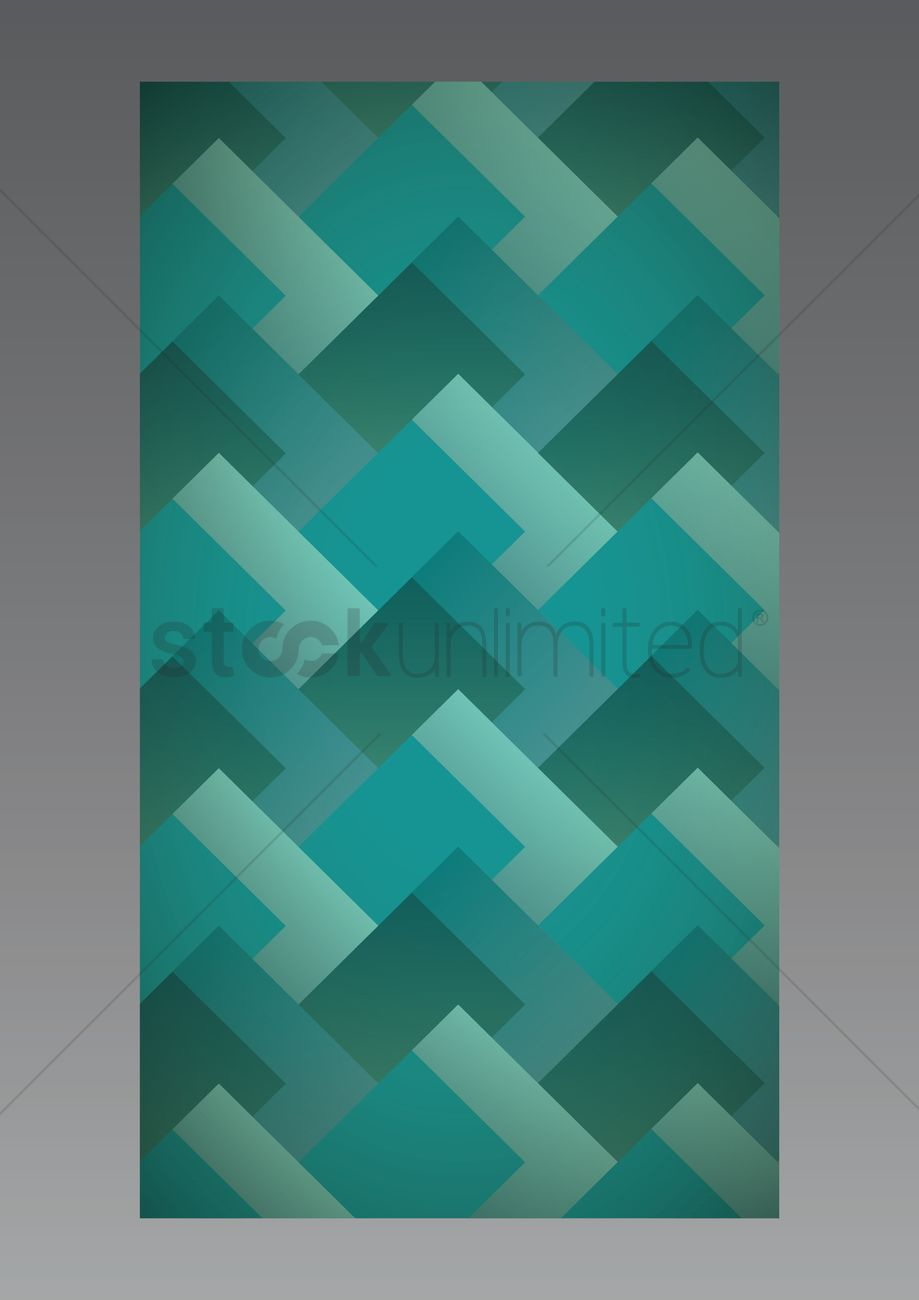 Geometric Wallpaper For Mobile Phone Vector Image 1635801