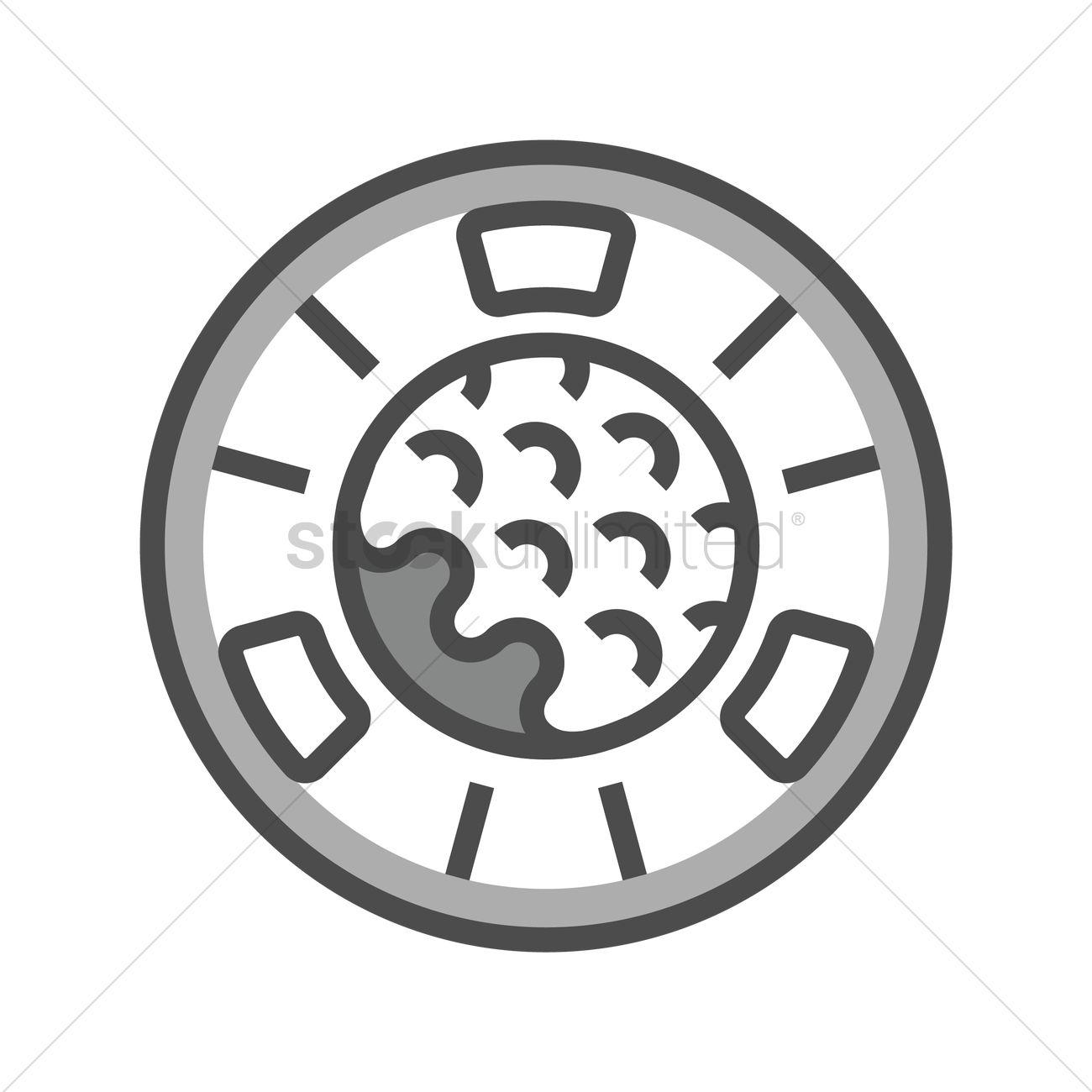 golf ball marker vector image 1955461 stockunlimited rh stockunlimited com  golf ball graphics free