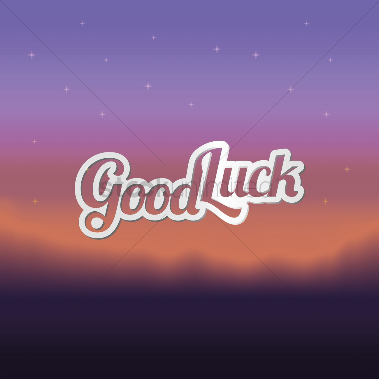 Good luck greeting vector image 1811373 stockunlimited good luck greeting vector graphic m4hsunfo