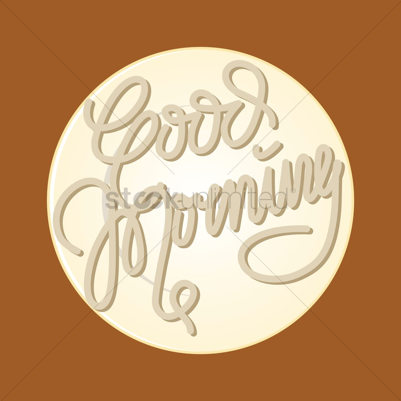 Good Morning Greeting Vector Image 1351509 Stockunlimited