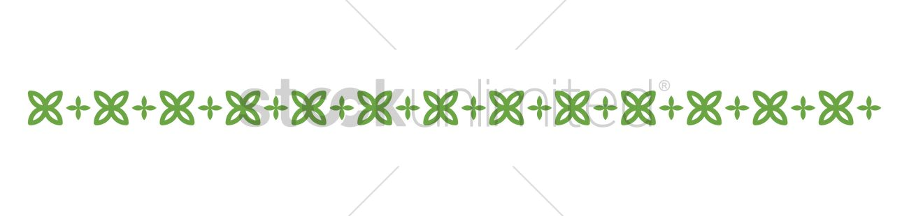 green border design vector graphic