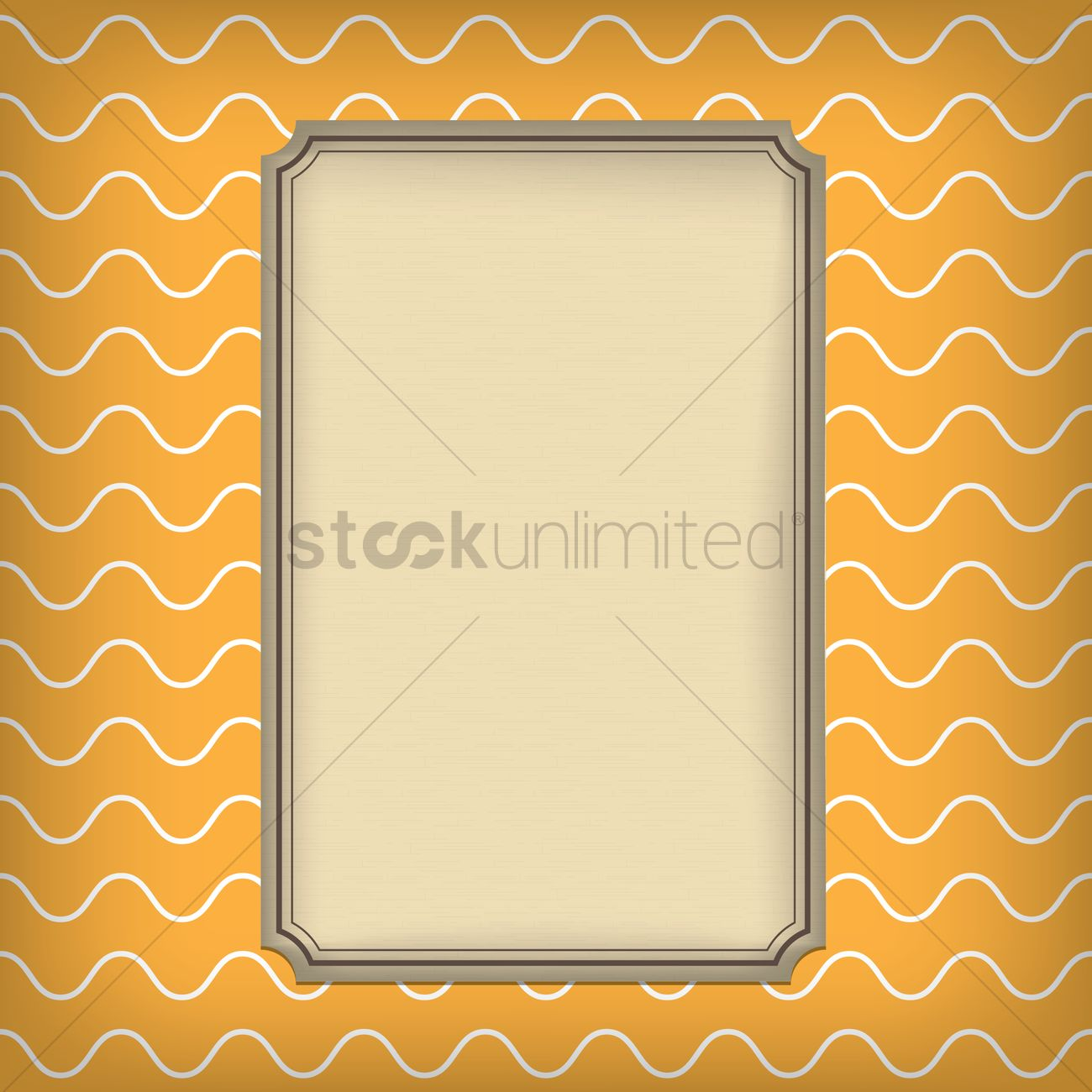 free greeting card template design vector image 1625297