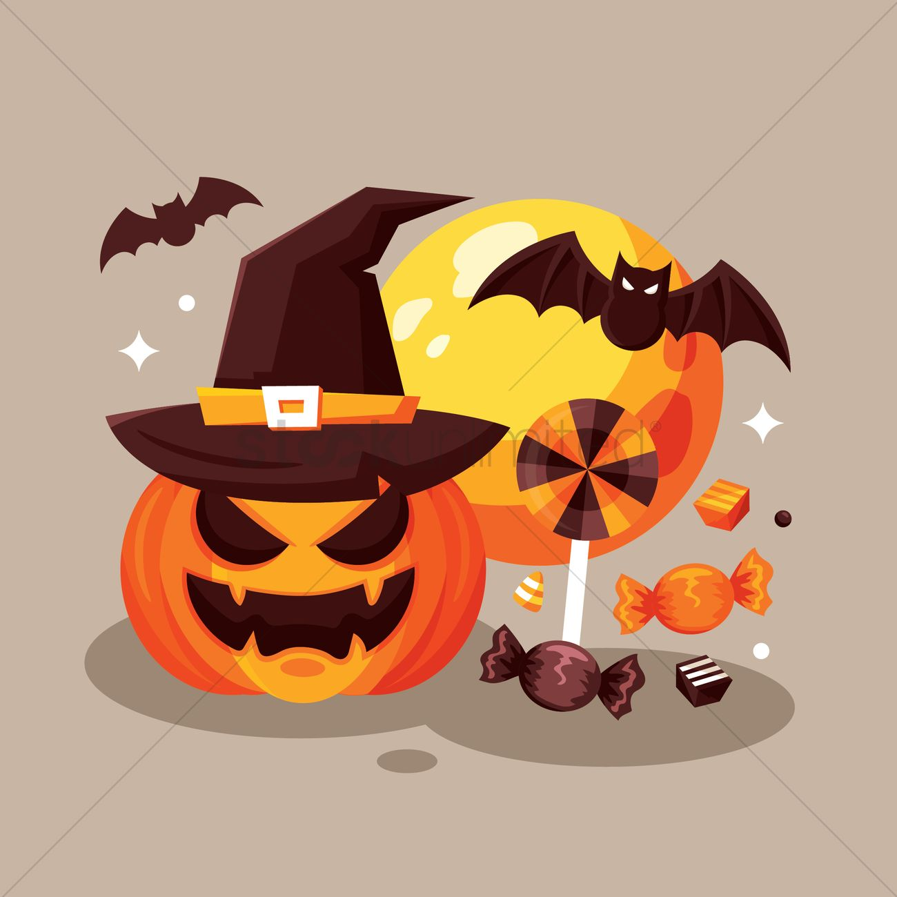halloween design vector graphic - Halloween Design