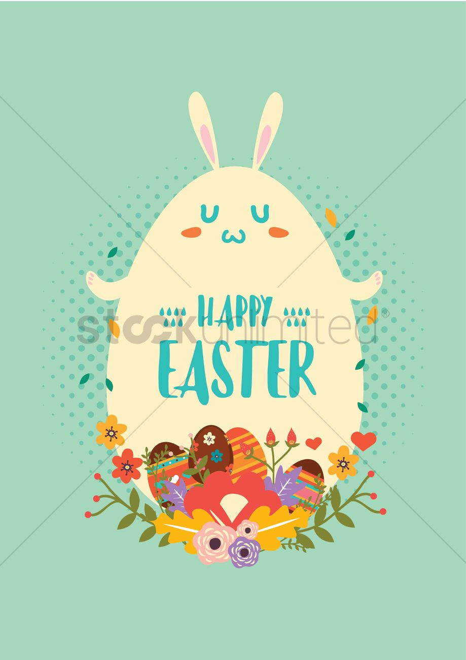 happy easter design vector image 2000025 stockunlimited