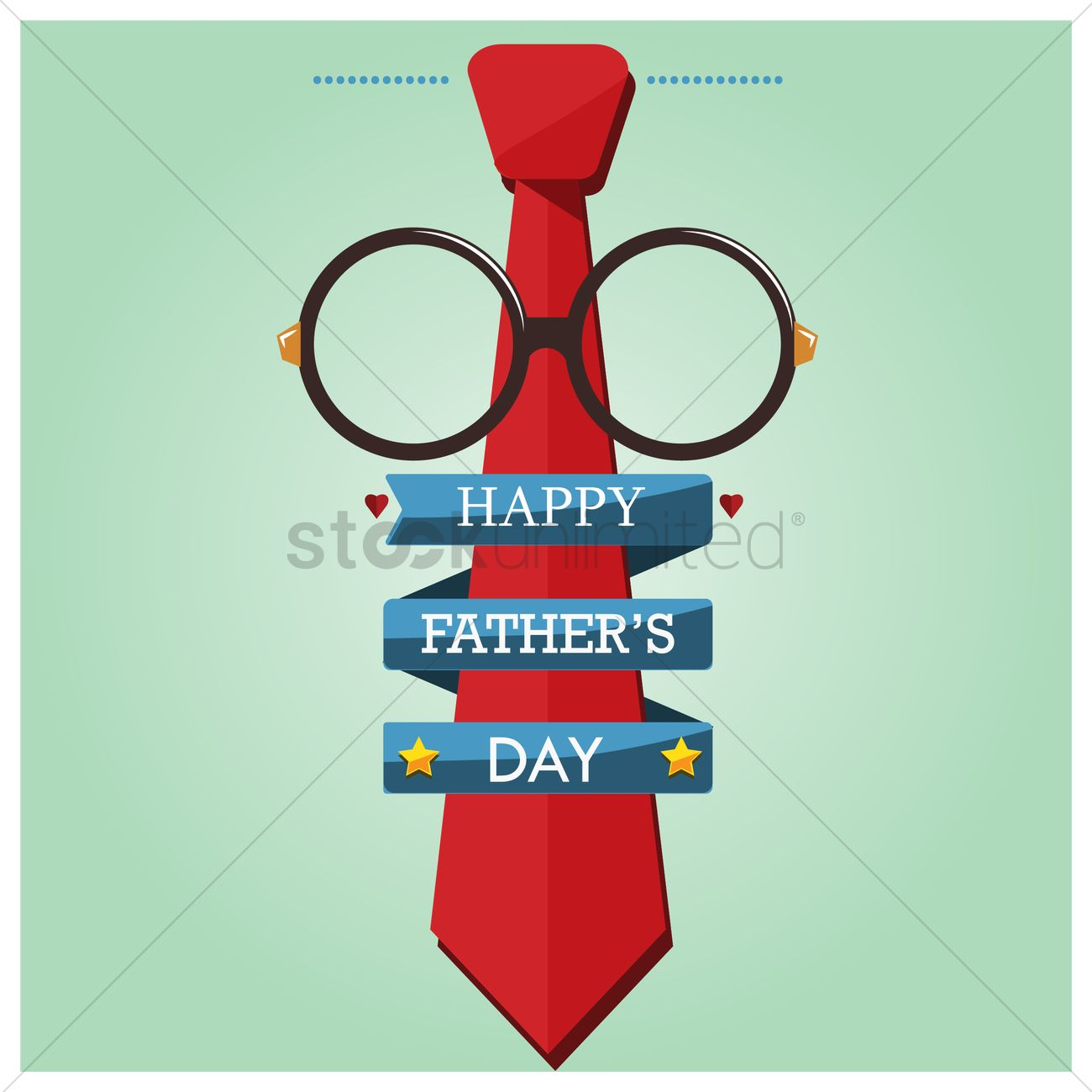 Happy Fathers Day Wallpaper Vector Image 1585477