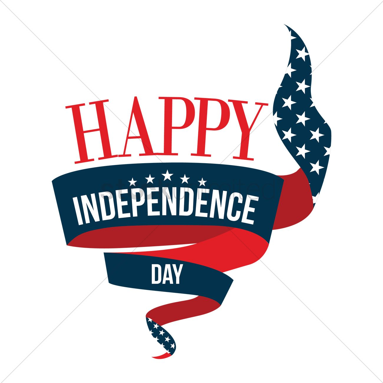 happy independence day 4th of july banner vector image 1514013 rh stockunlimited com independence day clipart india independence day clipart images