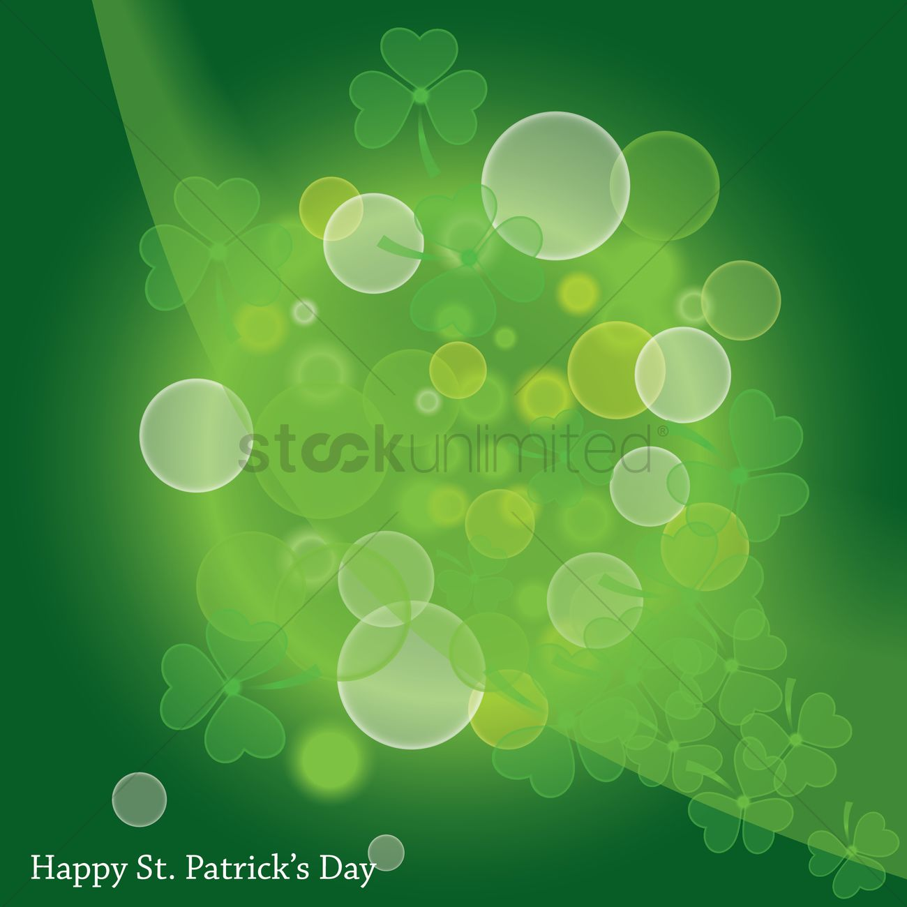 Happy Stpatricks Day Wallpaper Vector Image 1482581