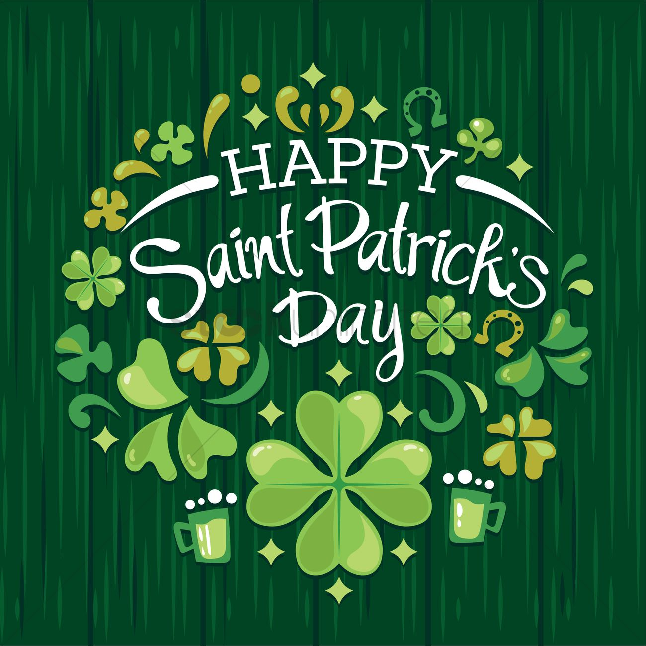 Happy st patricks day Vector Image - 1991597 | StockUnlimited