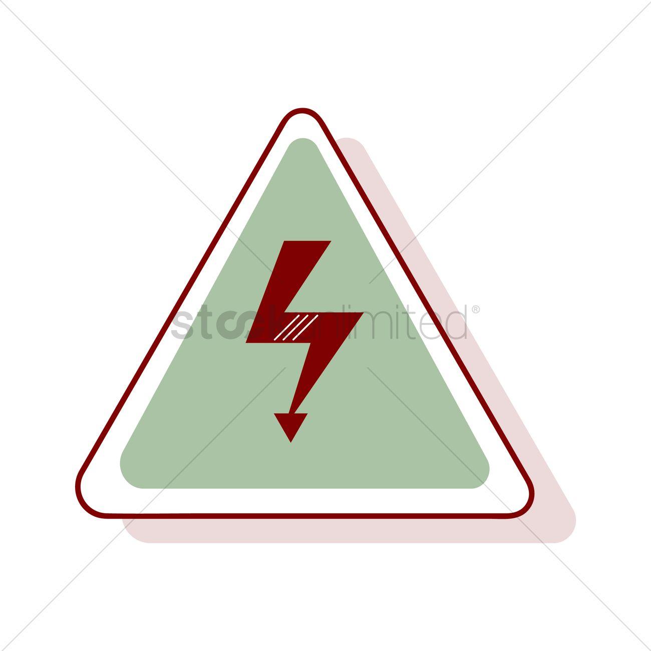 High voltage symbol vector image 1355189 stockunlimited high voltage symbol vector graphic buycottarizona