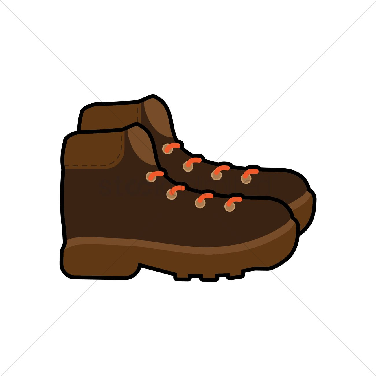Hiking boots Vector Image , 1870901