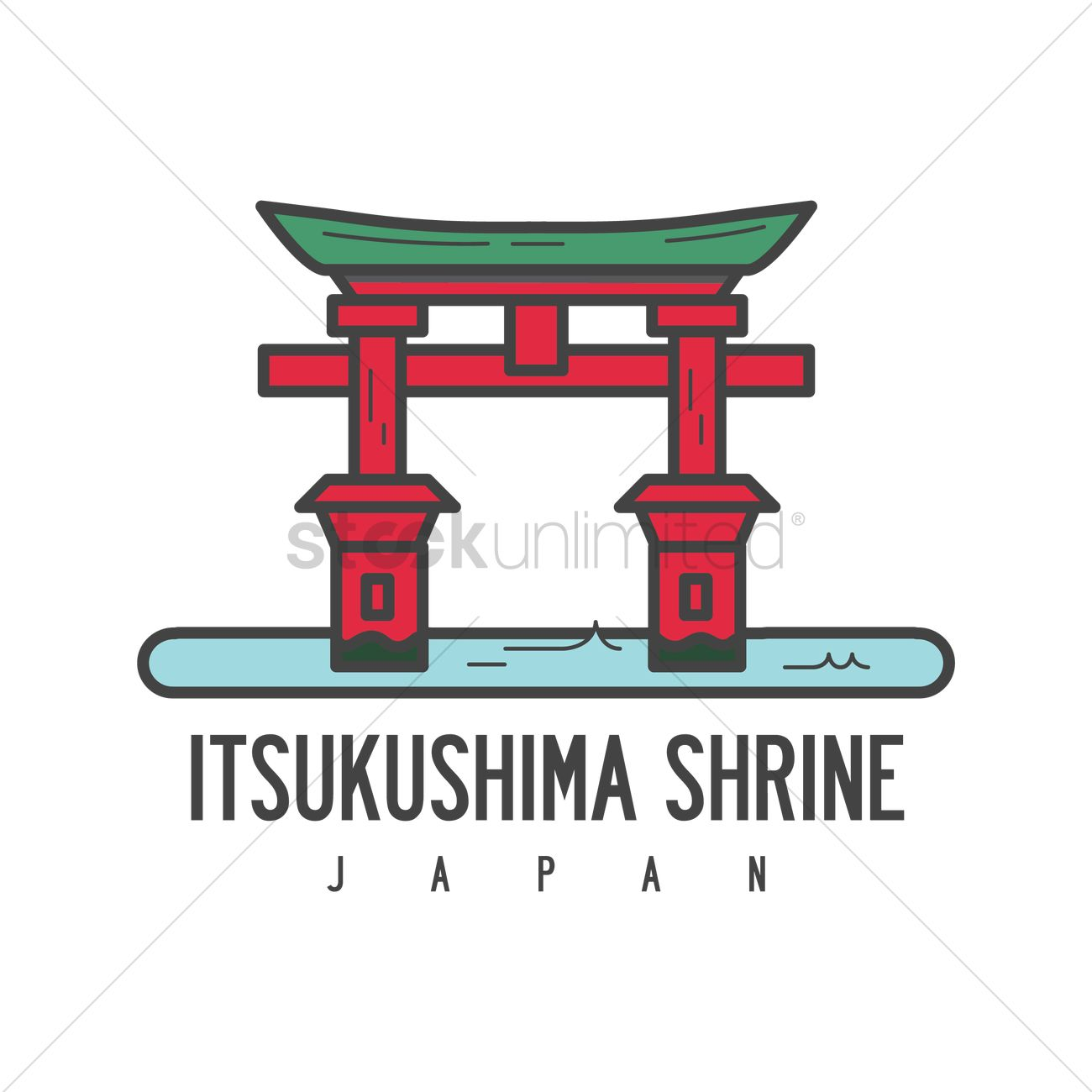 itsukushima shrine vector image 1589509 stockunlimited rh stockunlimited com shrine clipart png shine clipart