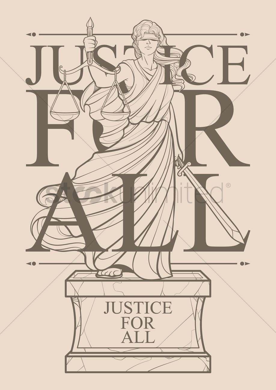 Lady justice statue vector image 1982361 stockunlimited lady justice statue vector graphic buycottarizona