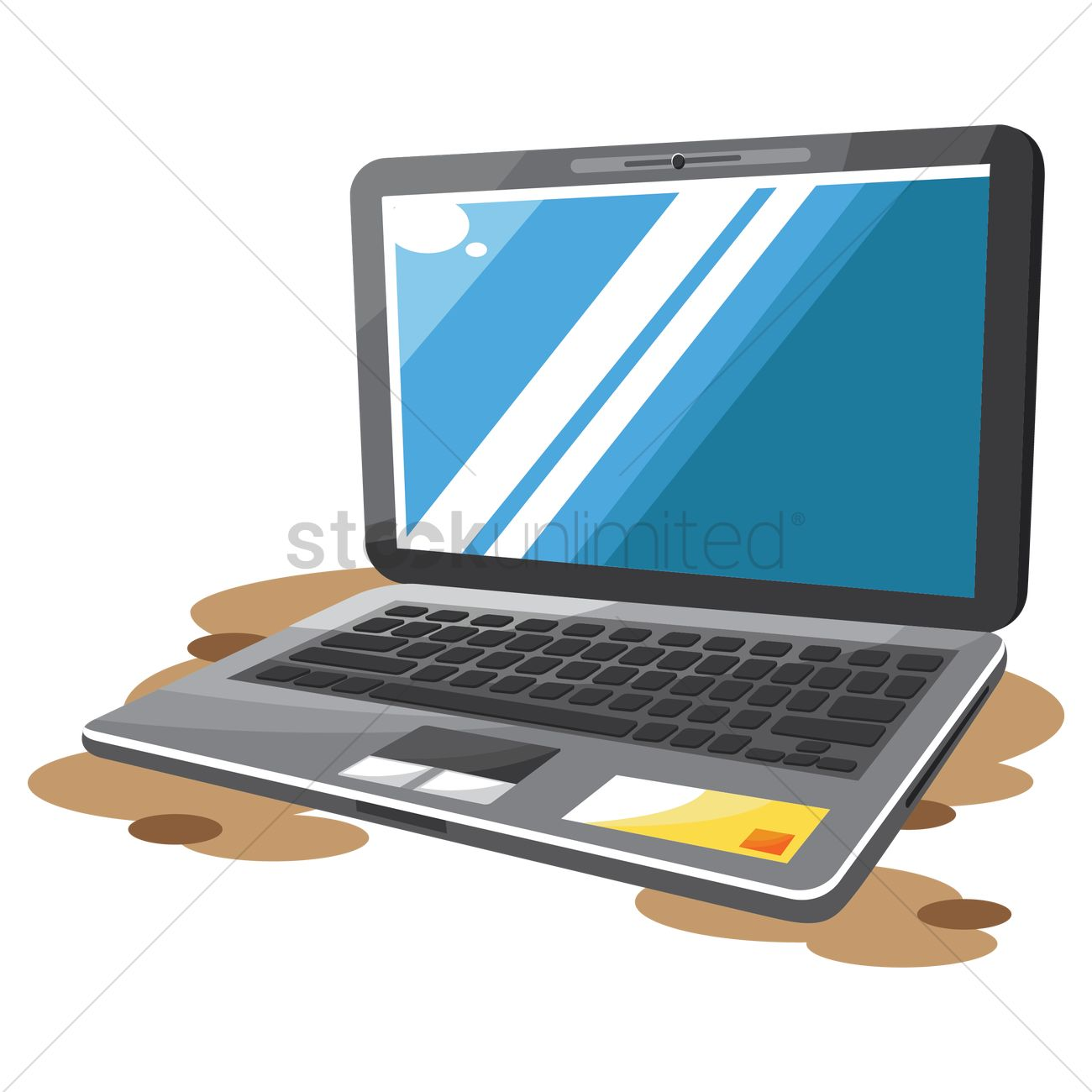 Free Laptop Vector Image - 1484497 | StockUnlimited