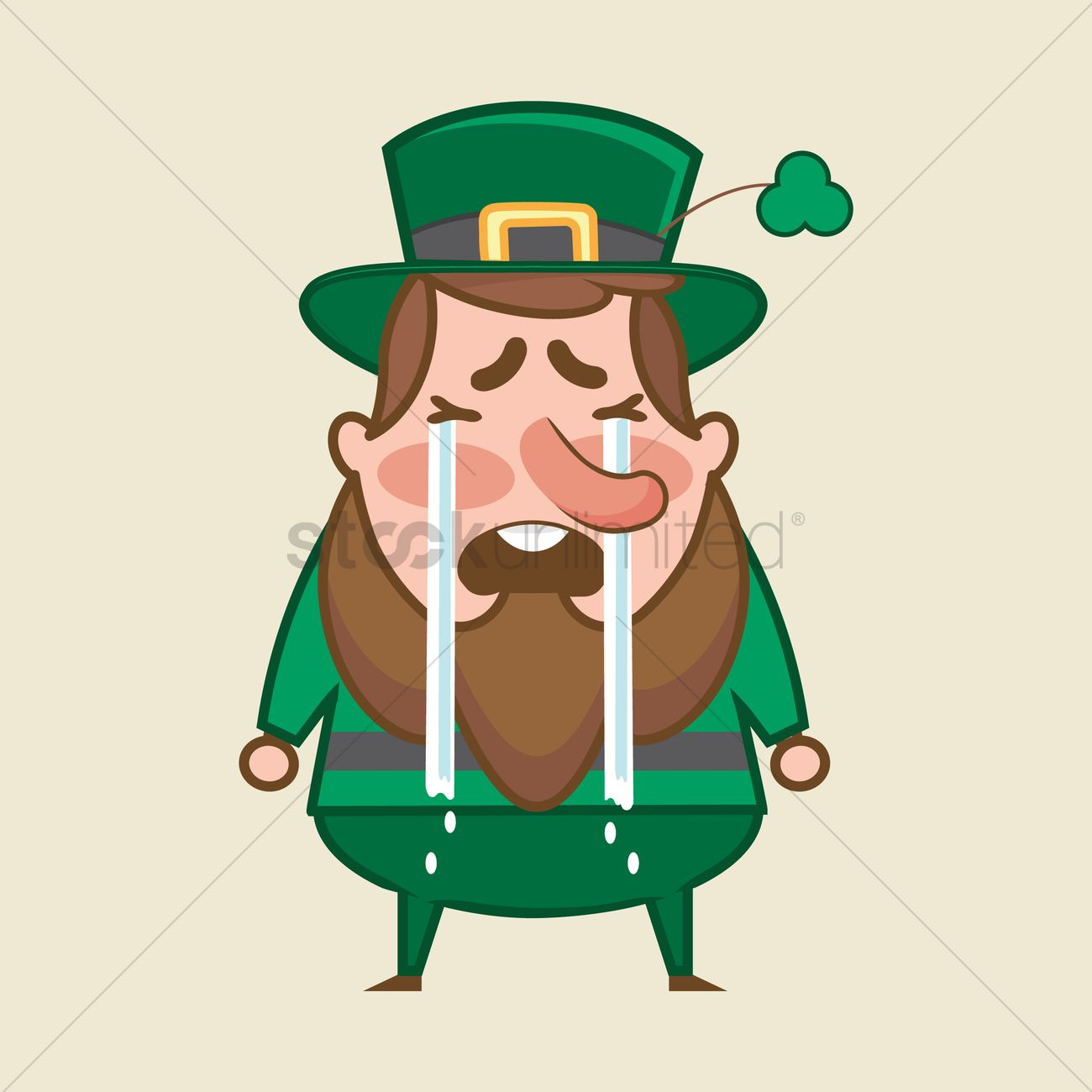 Leprechaun crying vector image 1957113 stockunlimited leprechaun crying vector graphic altavistaventures