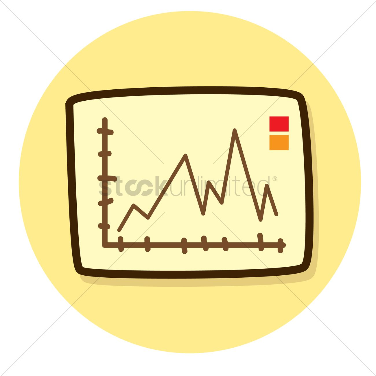 line graph vector image - 1241505 | stockunlimited